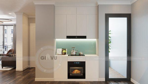 Thiết kế nội thất Vinhomes Phạm Hùng tòa S1 nhà anh Tân 6
