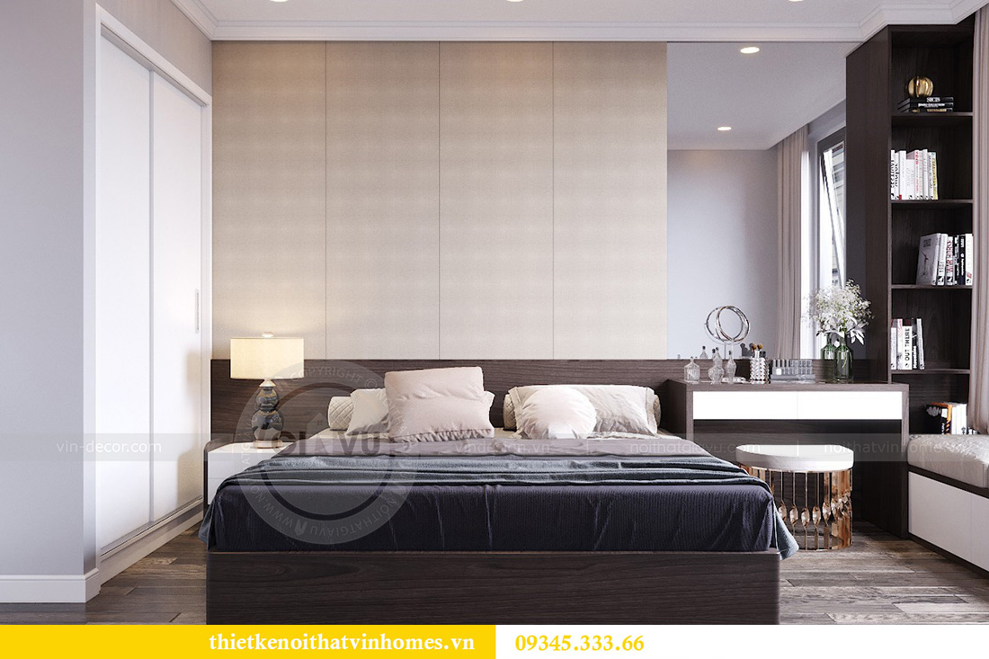 Thiết kế nội thất Vinhomes Phạm Hùng tòa S1 nhà anh Tân 7
