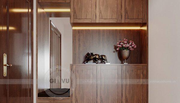 Thiết kế nội thất căn hộ chung cư Metropolis tòa M2 11 nhà anh Thắng 1