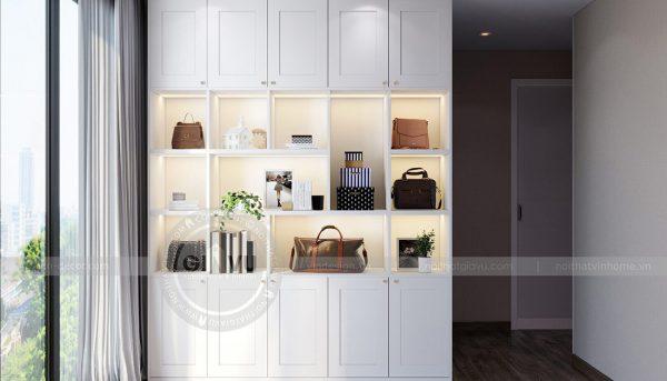Thiết kế nội thất căn hộ chung cư Metropolis tòa M2 11 nhà anh Thắng 10
