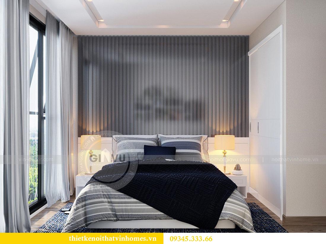 Thiết kế nội thất căn hộ chung cư Metropolis tòa M2 11 nhà anh Thắng 11