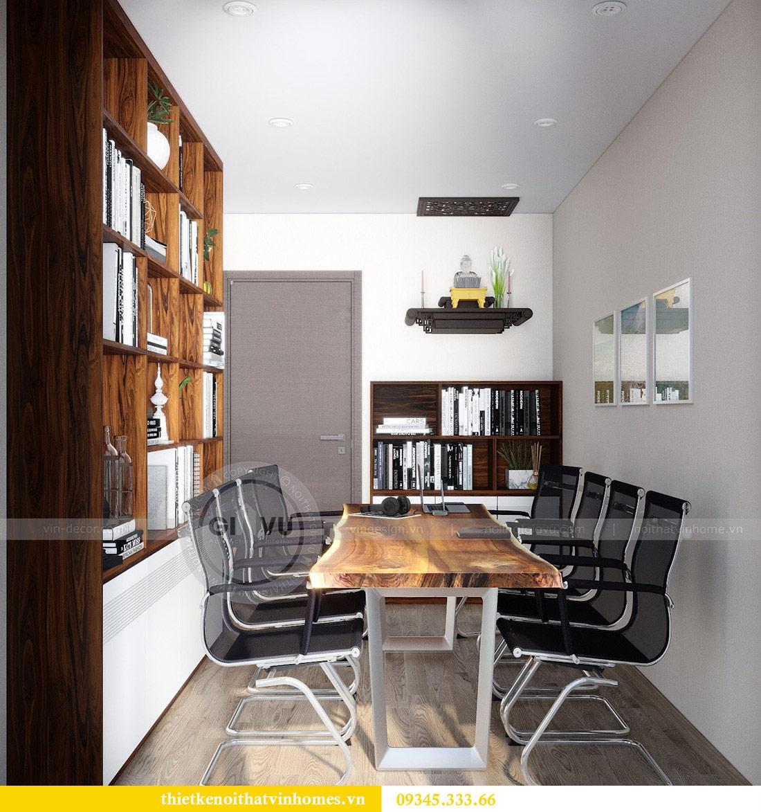 Thiết kế nội thất căn hộ chung cư Metropolis tòa M2 11 nhà anh Thắng 14