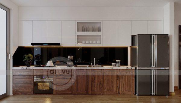 Thiết kế nội thất căn hộ chung cư Metropolis tòa M2 11 nhà anh Thắng 2