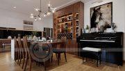 Thiết kế nội thất căn hộ chung cư Metropolis tòa M2 11 nhà anh Thắng 3