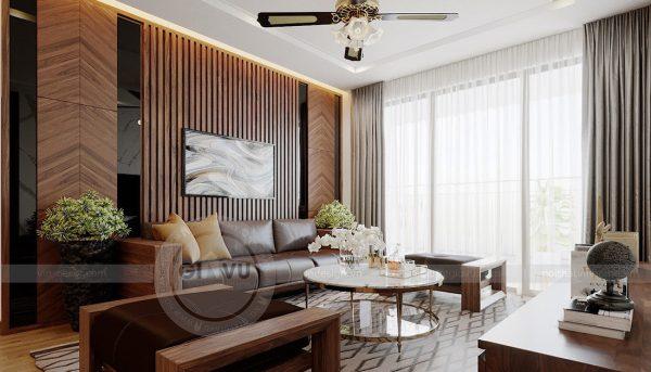 Thiết kế nội thất căn hộ chung cư Metropolis tòa M2 11 nhà anh Thắng 6