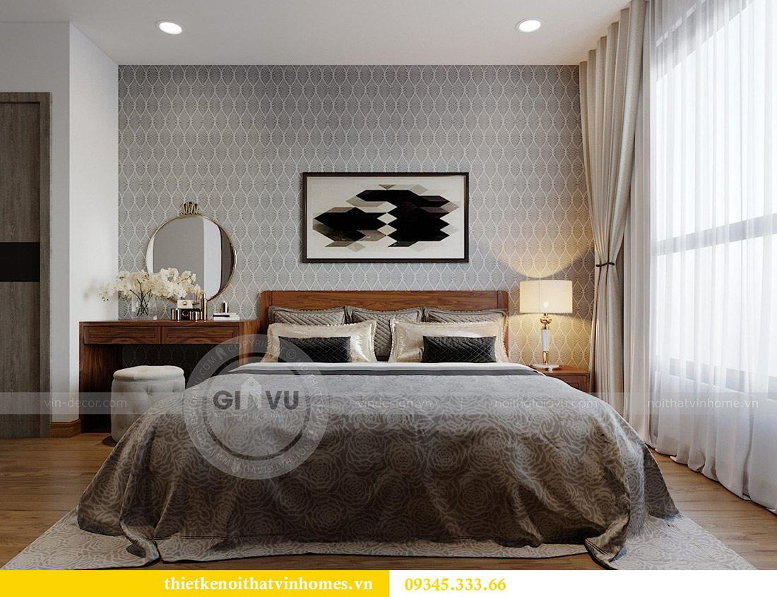 Thiết kế nội thất căn hộ chung cư Metropolis tòa M2 11 nhà anh Thắng 7