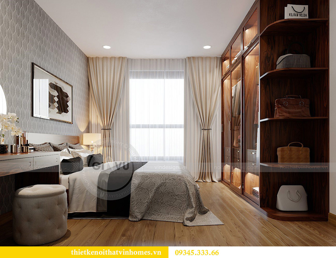 Thiết kế nội thất căn hộ chung cư Metropolis tòa M2 11 nhà anh Thắng 8