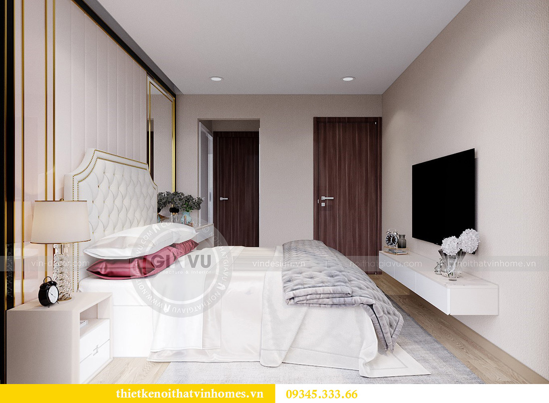 Thiết kế nội thất Vinhomes Metropolis căn 10 tòa M3 - cô Liễu 11