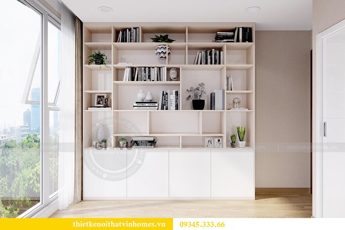 Thiết kế nội thất Vinhomes Metropolis căn 10 tòa M3 - cô Liễu 13