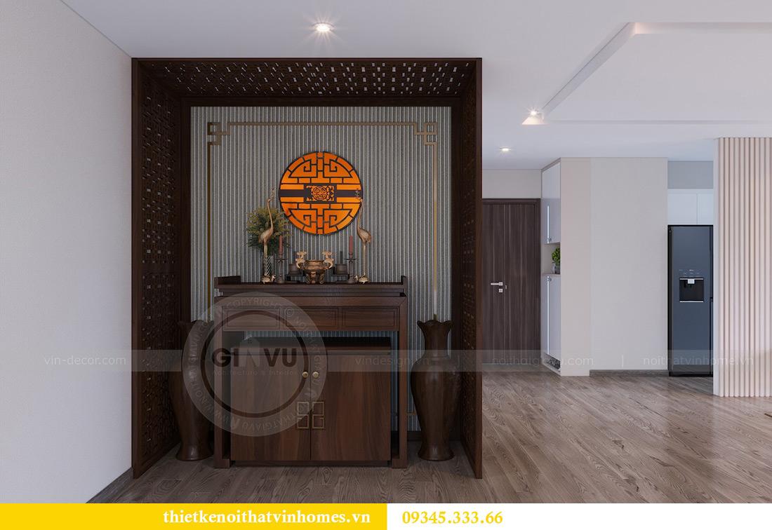 Thiết kế nội thất Vinhomes Metropolis căn 10 tòa M3 - cô Liễu 6