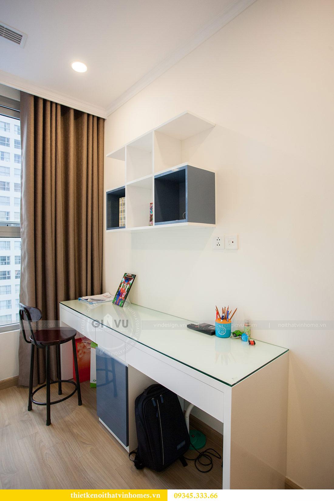 Thi công nội thất chung cư Green Bay tòa G1 căn 2 ngủ nhà chị Ly 13