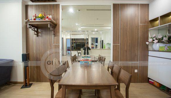 Thi công nội thất chung cư Green Bay tòa G1 căn 2 ngủ nhà chị Ly 2