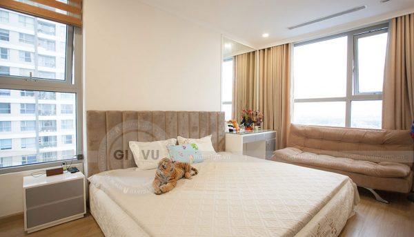 Thi công nội thất chung cư Green Bay tòa G1 căn 2 ngủ nhà chị Ly 8