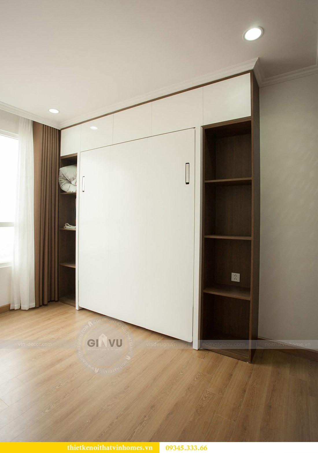 Thi công nội thất chung cư Vinhomes Sky Lake căn 3 phòng ngủ 11