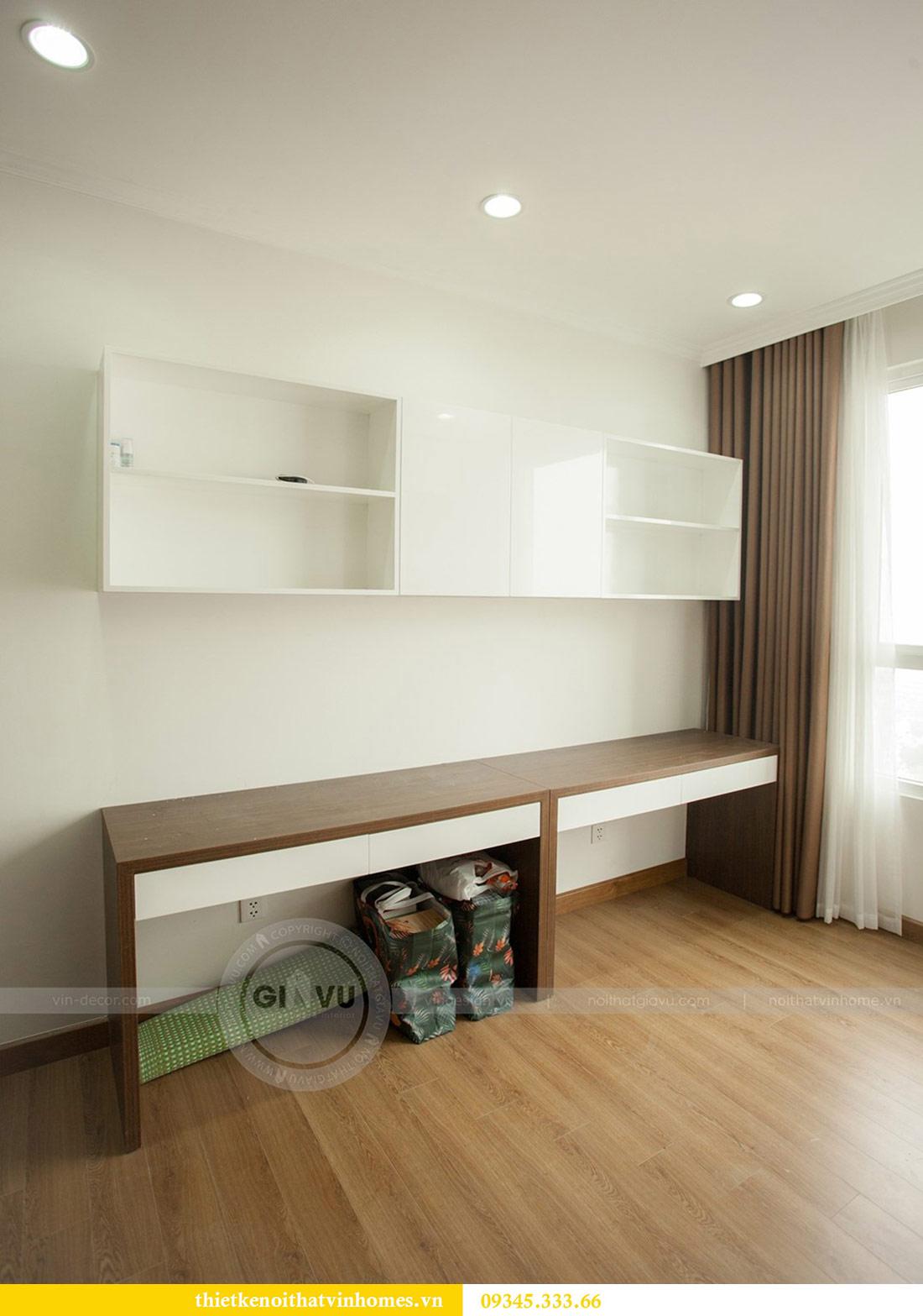 Thi công nội thất chung cư Vinhomes Sky Lake căn 3 phòng ngủ 12