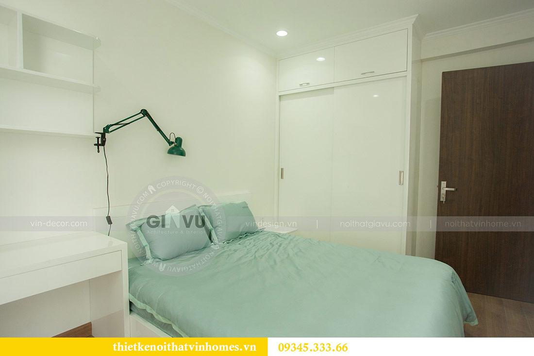 Thi công nội thất chung cư Vinhomes Sky Lake căn 3 phòng ngủ 16