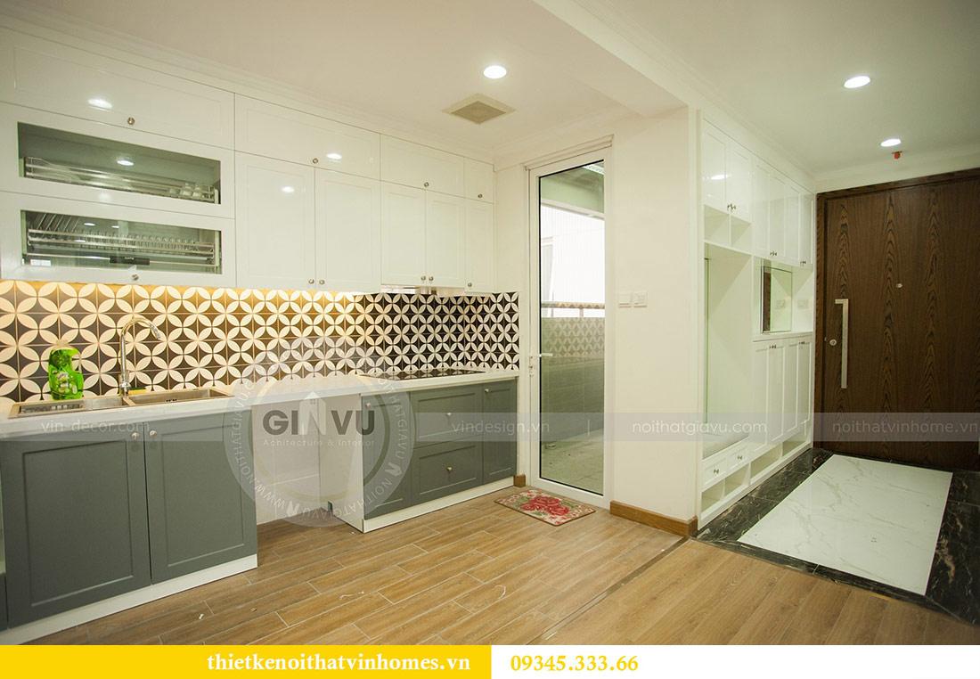 Thi công nội thất chung cư Vinhomes Sky Lake căn 3 phòng ngủ 2