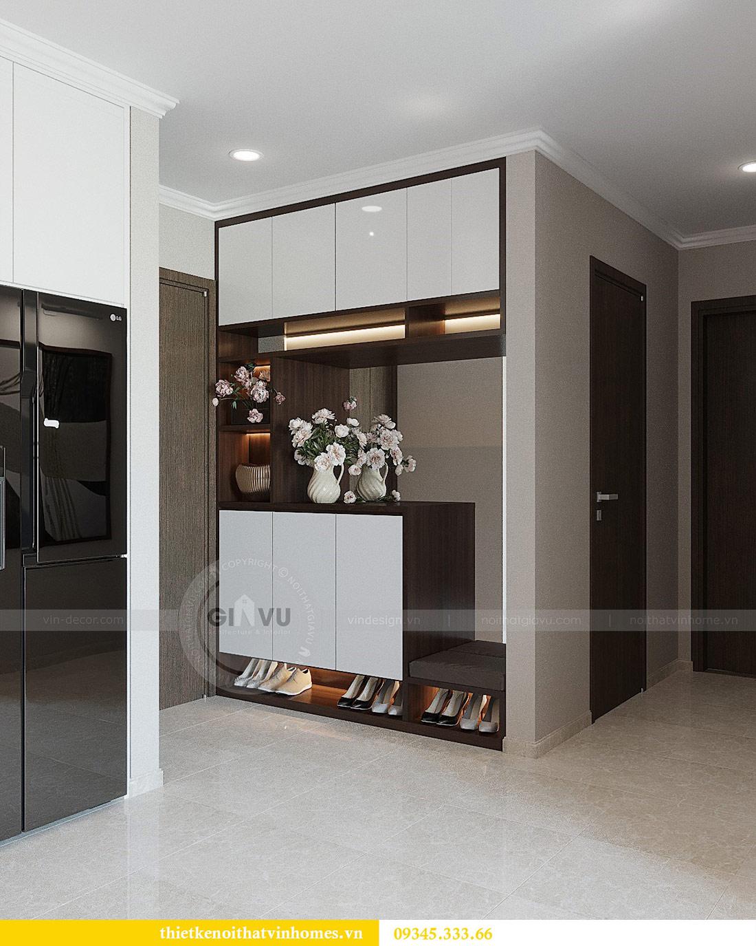 Thiết kế nội thất căn hộ 01 tòa C1 chung cư Dcapitale Trần Duy Hưng 1