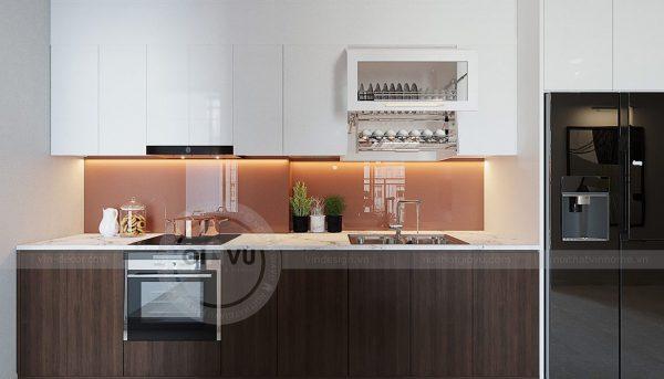 Thiết kế nội thất căn hộ 01 tòa C1 chung cư Dcapitale Trần Duy Hưng 3