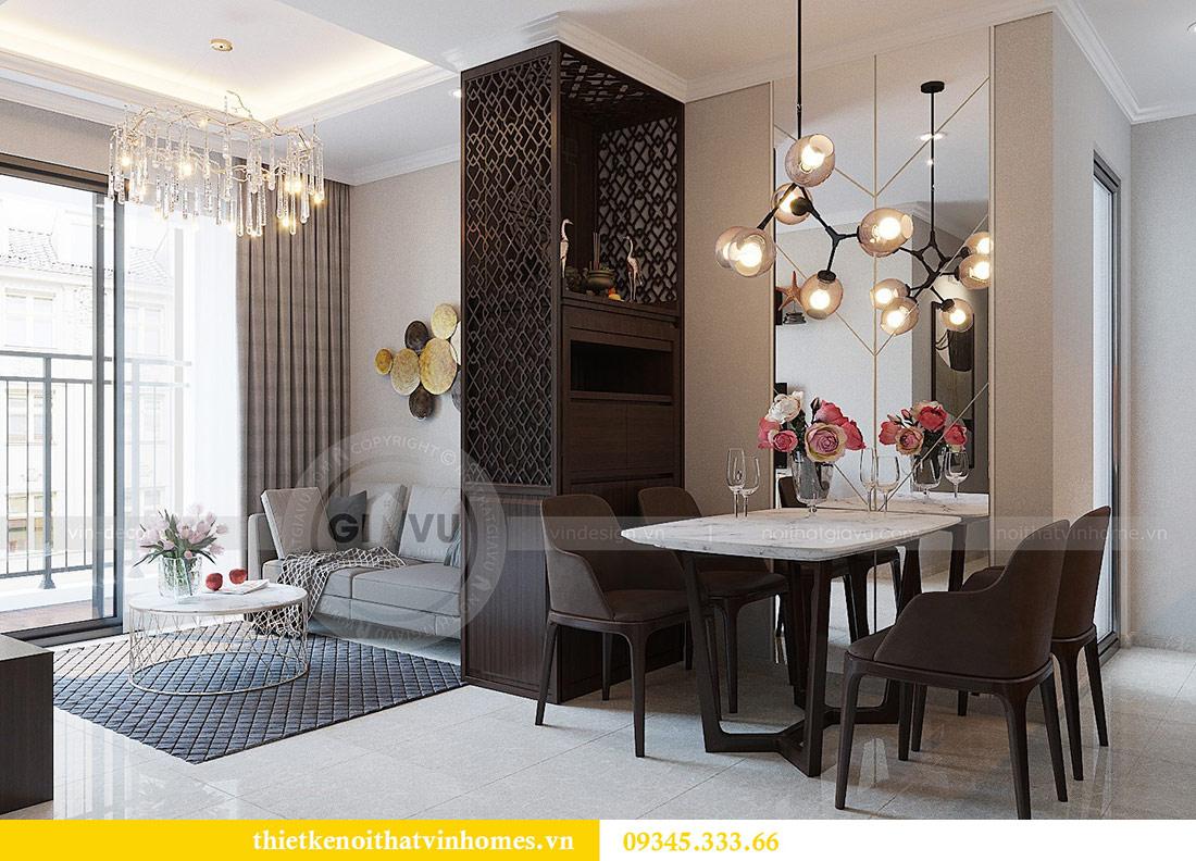 Thiết kế nội thất căn hộ 01 tòa C1 chung cư Dcapitale Trần Duy Hưng 4