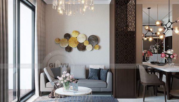 Thiết kế nội thất căn hộ 01 tòa C1 chung cư Dcapitale Trần Duy Hưng 5