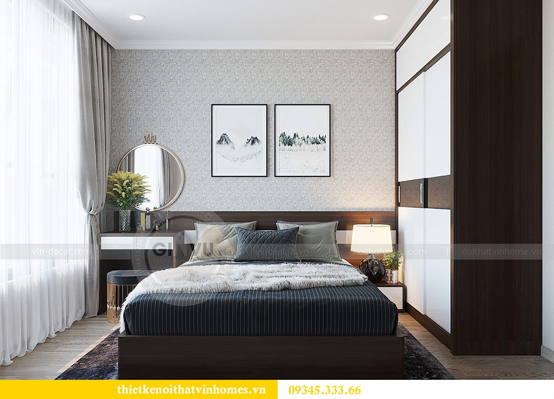 Thiết kế nội thất căn hộ 01 tòa C1 chung cư Dcapitale Trần Duy Hưng 7