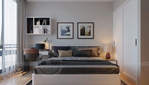Thiết kế nội thất căn hộ Metropolis theo phong cách hiện đại 10