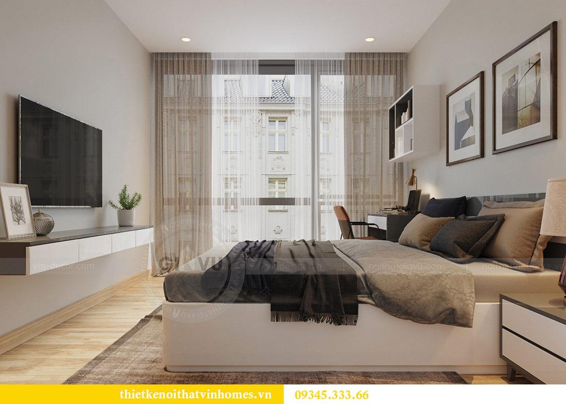 Thiết kế nội thất căn hộ Metropolis theo phong cách hiện đại 11