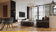 Thiết kế nội thất căn hộ Metropolis theo phong cách hiện đại 2