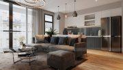 Thiết kế nội thất căn hộ Metropolis theo phong cách hiện đại 4