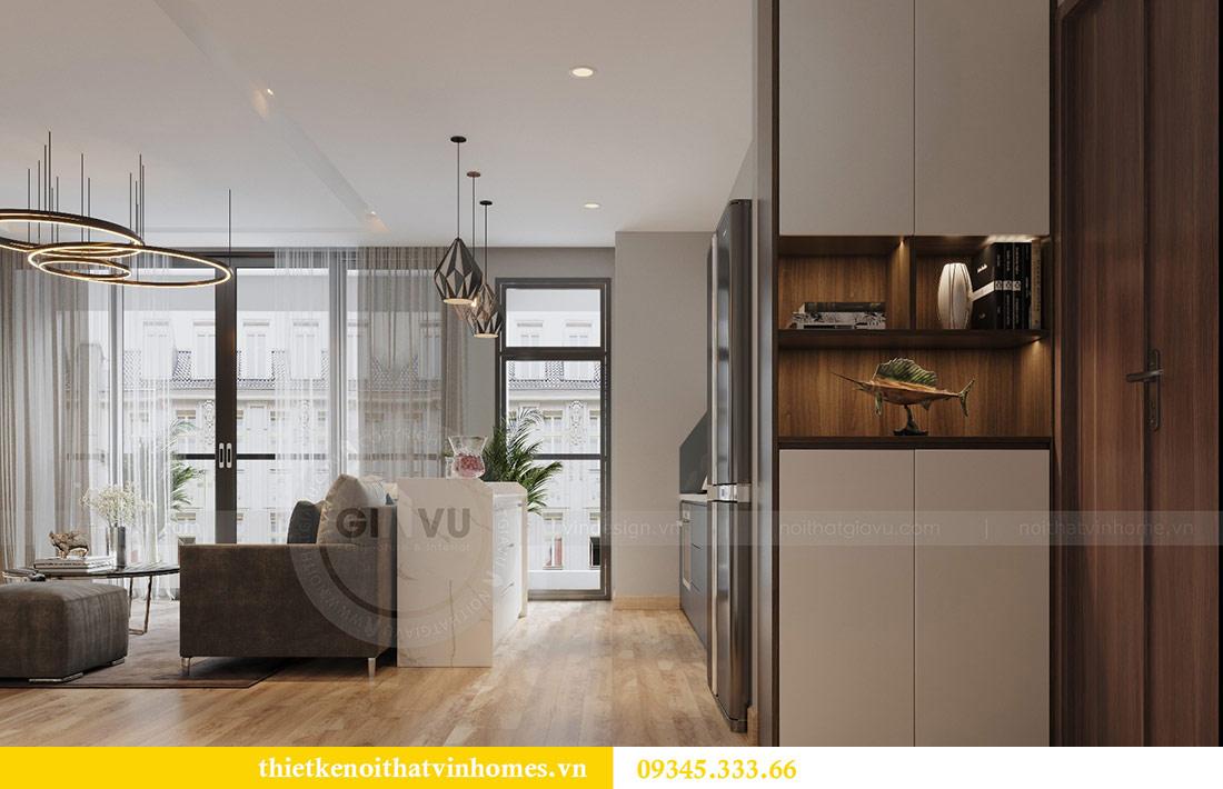 Thiết kế nội thất căn hộ Metropolis theo phong cách hiện đại 5