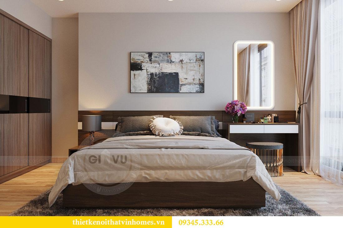 Thiết kế nội thất căn hộ Metropolis theo phong cách hiện đại 6