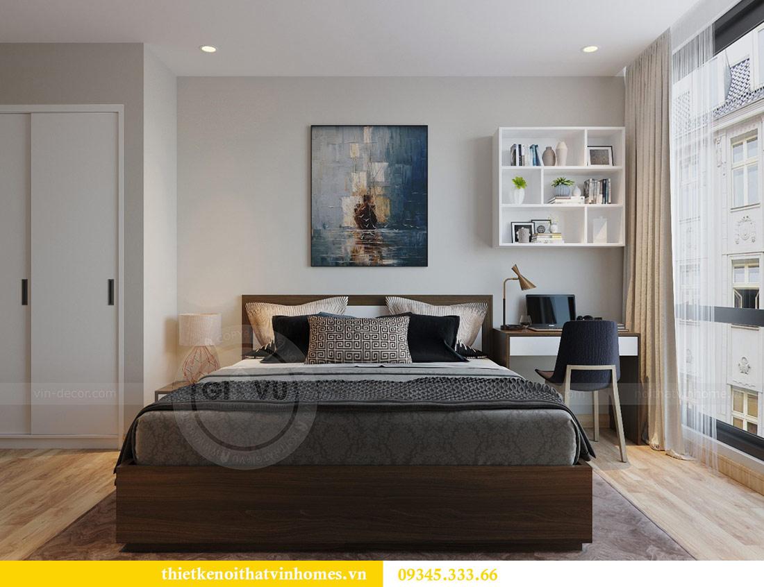 Thiết kế nội thất căn hộ Metropolis theo phong cách hiện đại 8