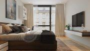 Thiết kế nội thất căn hộ Metropolis theo phong cách hiện đại 9