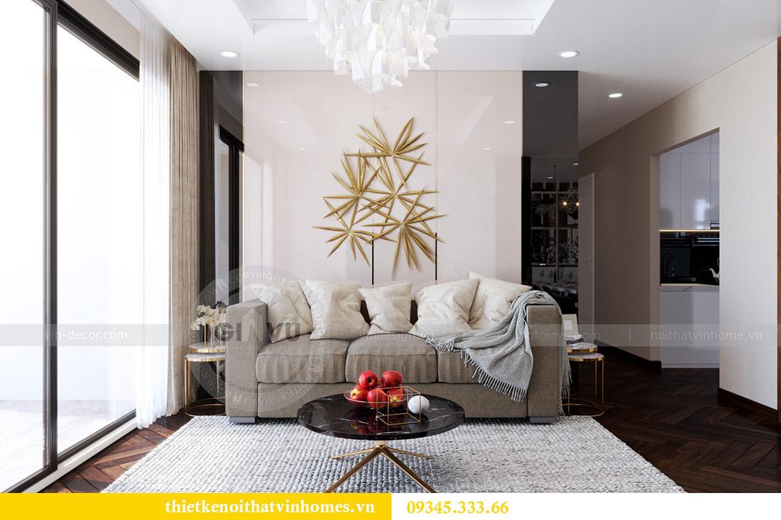 Thiết kế nội thất căn hộ Sky Lake tòa S1 căn 11 - chị Hồng 1