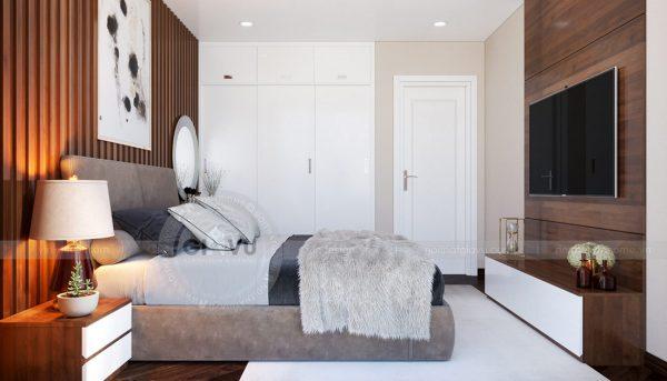 Thiết kế nội thất căn hộ Sky Lake tòa S1 căn 11 - chị Hồng 10
