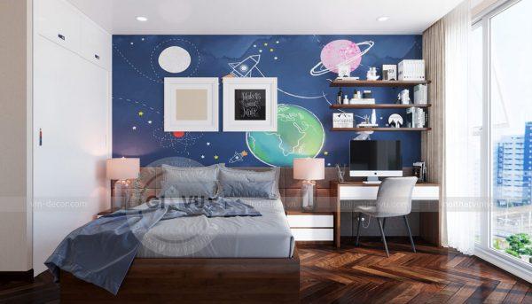 Thiết kế nội thất căn hộ Sky Lake tòa S1 căn 11 - chị Hồng 11