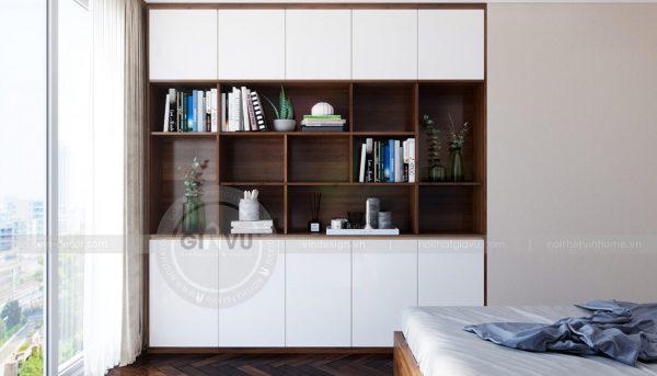 Thiết kế nội thất căn hộ Sky Lake tòa S1 căn 11 - chị Hồng 12
