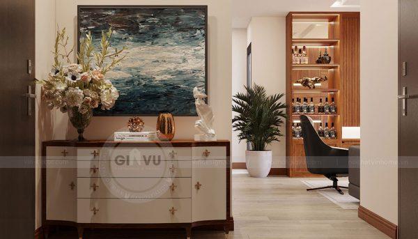 Thiết kế nội thất căn hộ Metropolis tòa M3 căn 02 - chị Thơm 1