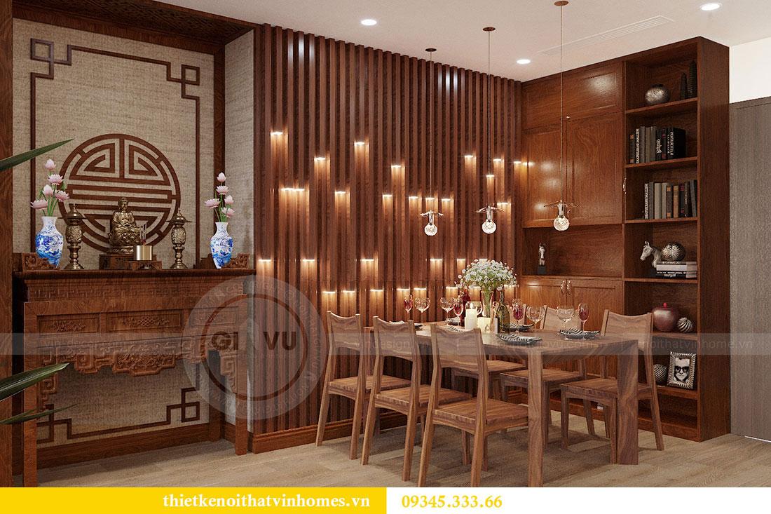 Thiết kế nội thất căn hộ Metropolis tòa M3 căn 02 - chị Thơm 2