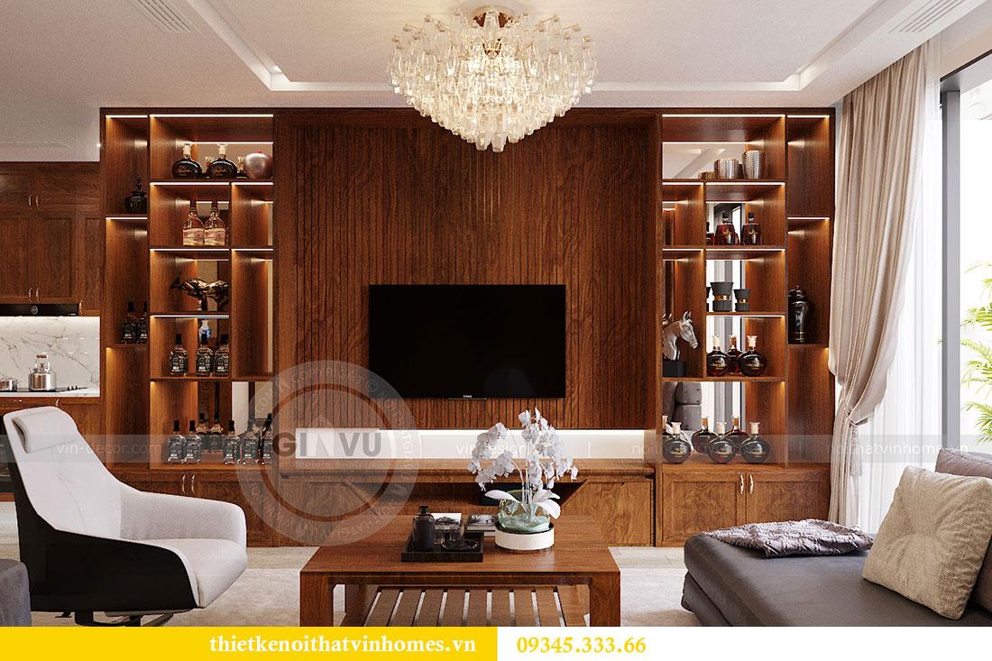 Thiết kế nội thất căn hộ Metropolis tòa M3 căn 02 - chị Thơm 3