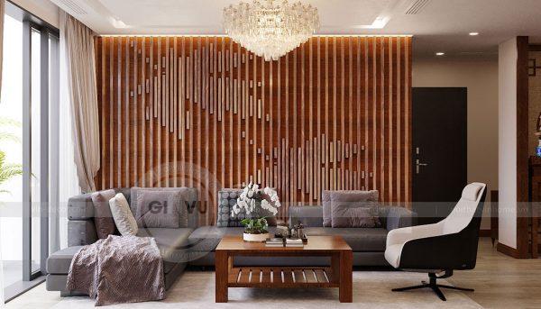 Thiết kế nội thất căn hộ Metropolis tòa M3 căn 02 - chị Thơm 4
