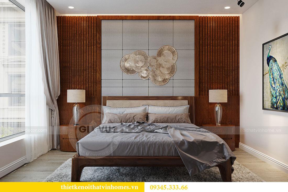 Thiết kế nội thất căn hộ Metropolis tòa M3 căn 02 - chị Thơm 5