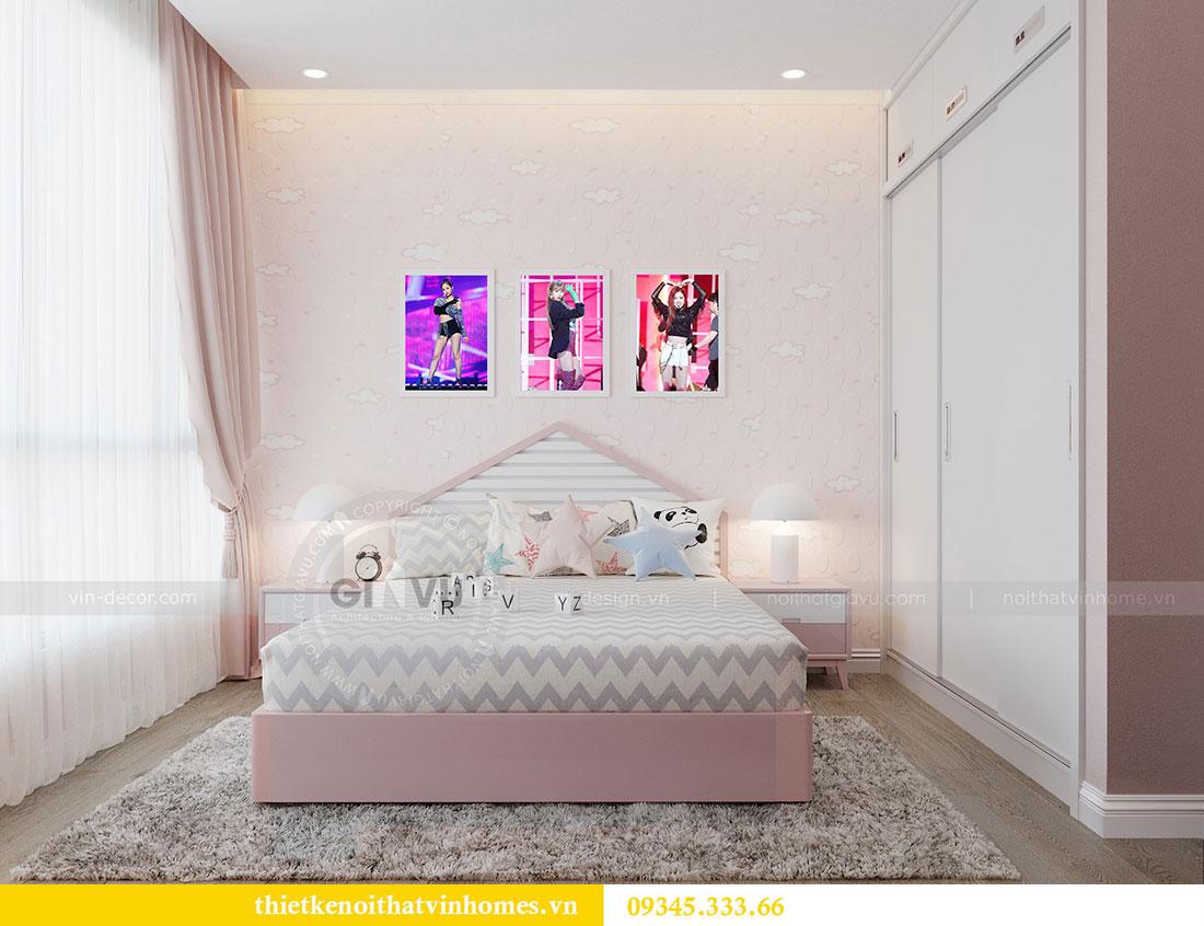 Thiết kế nội thất căn hộ Metropolis tòa M3 căn 02 - chị Thơm 7