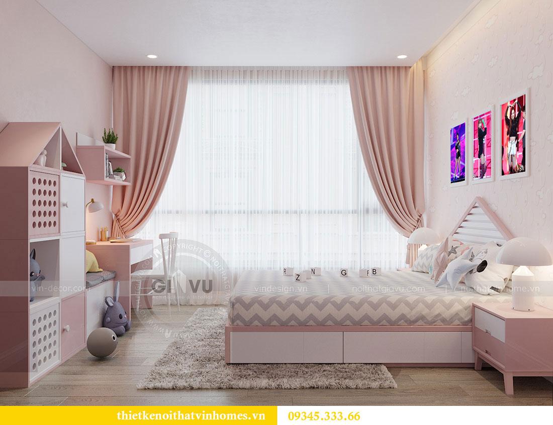 Thiết kế nội thất căn hộ Metropolis tòa M3 căn 02 - chị Thơm 8