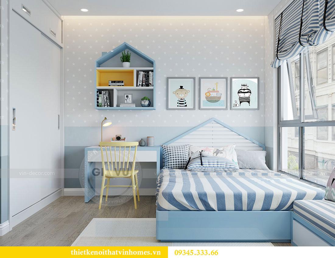 Thiết kế nội thất căn hộ Metropolis tòa M3 căn 02 - chị Thơm 9