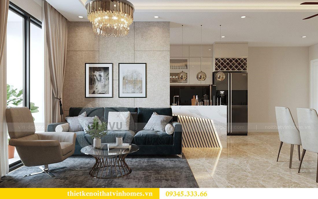 Thiết kế nội thất Vinhomes Dcapitale căn 3 phòng ngủ - anh Công 1