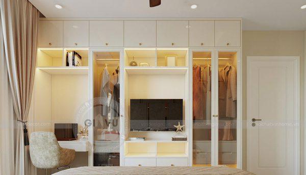 Thiết kế nội thất Vinhomes Dcapitale căn 3 phòng ngủ - anh Công 11