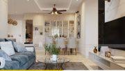 Thiết kế nội thất Vinhomes Dcapitale căn 3 phòng ngủ - anh Công 2