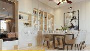 Thiết kế nội thất Vinhomes Dcapitale căn 3 phòng ngủ - anh Công 3